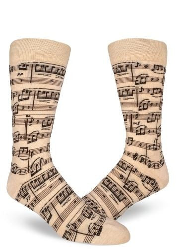 Mod Socks A Genius Composition Men's Crew Socks