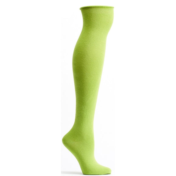 Ozone, High Zone Roll Top Knee-high Sock, #6012