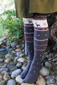 Tabbisocks REINDEER IN FROZEN TIGHTS