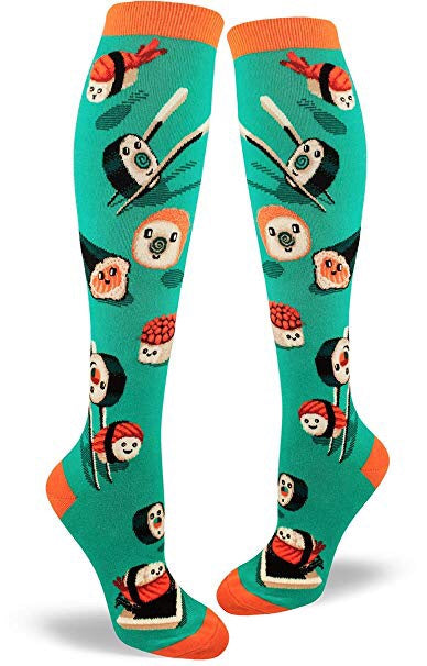 Silly Sushi, Women's Knee-high