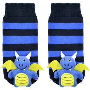 Boogie Toes Dragon Rattle Socks