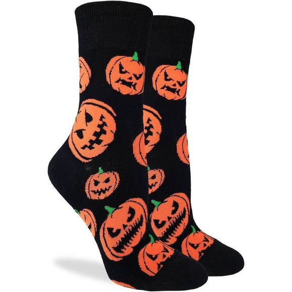 Halloween Pumpkins, Medium (5-9 Women's) Crew