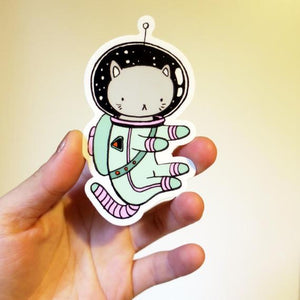Space Cat - Vinyl sticker