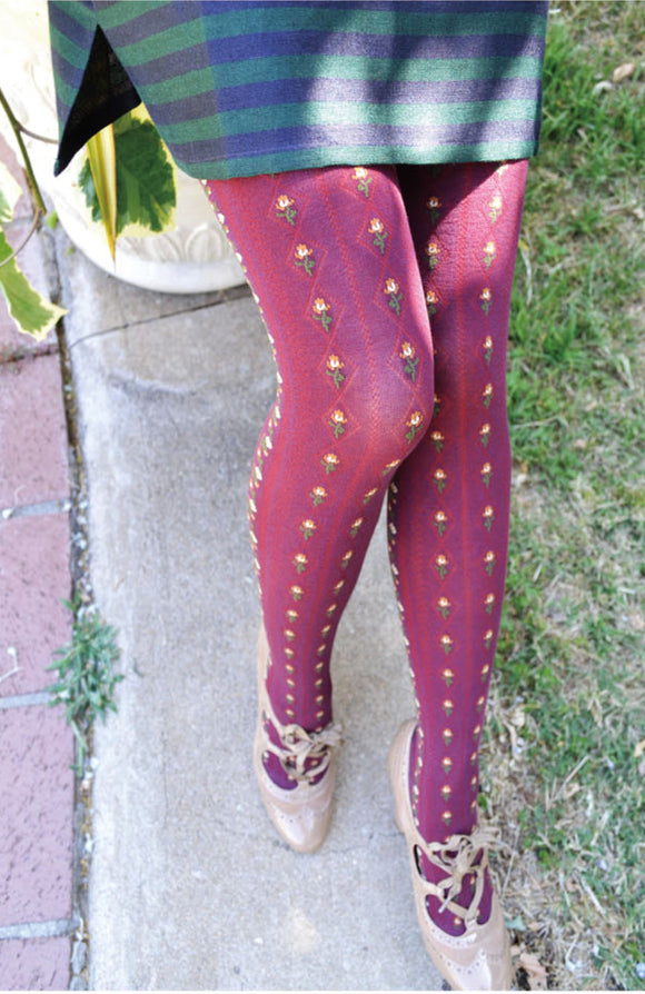 X Floral Lane, Tights