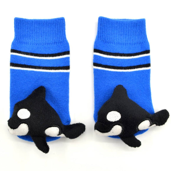 Boogie Toes Baby Orca Rattle