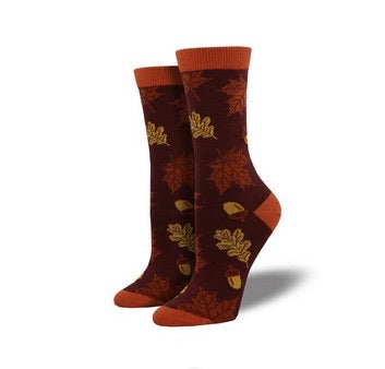 Sock Smith Bamboo Autumn Leaves
