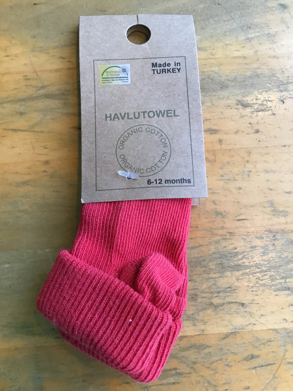 80% Organic Cotton Baby Socks | Crew