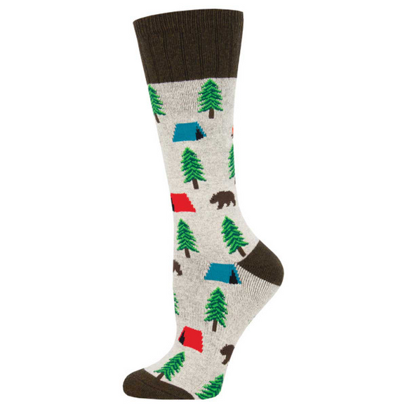 Camping, Outlands Collection, Boot Sock