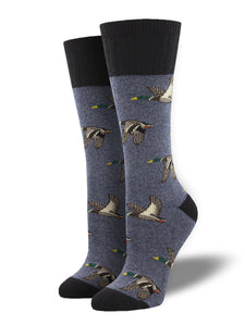 Flight Pattern, Outlands Collection, Small/Medium Boot Sock