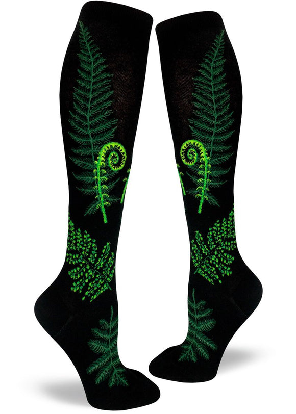 Ferns and Fiddleheads, Women's Knee-high