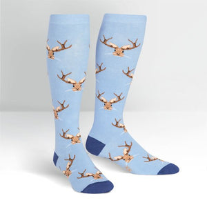 Jackalope, Stretch-It™ Wide Calf Socks Knee High