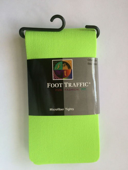 Foot Traffic Microfiber Tights