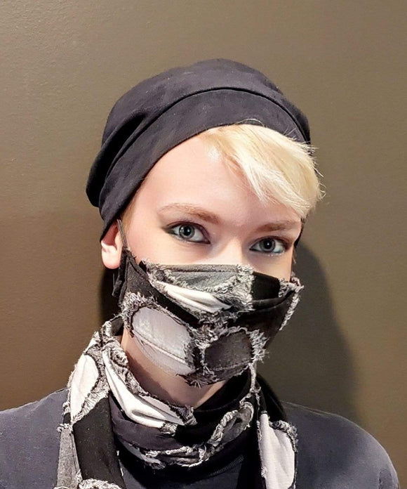 Box - Style Mask - Cotton - Lightweight - Breathable