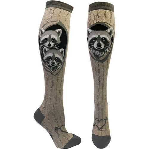 Raccoon Den, Women's Knee-High