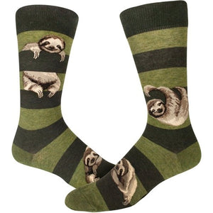Sloth Stripe, Men's Crew