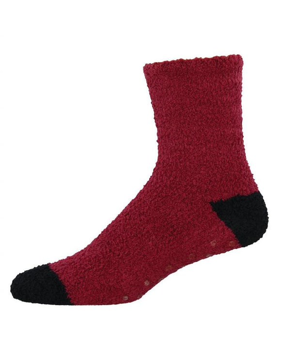 Warm & Fuzzy, Mens Crew, Sock Smith