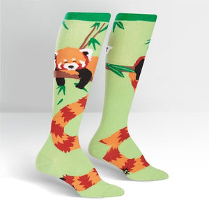 Sock It To Me Tale of the Red Panda Knee-High