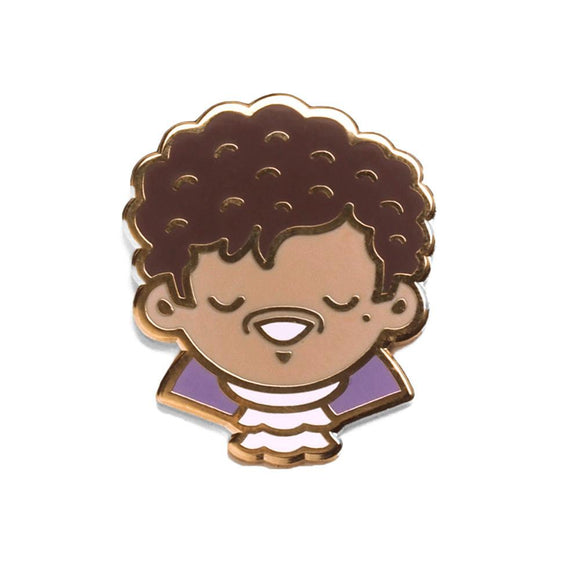The Purple One, Enamel Pin