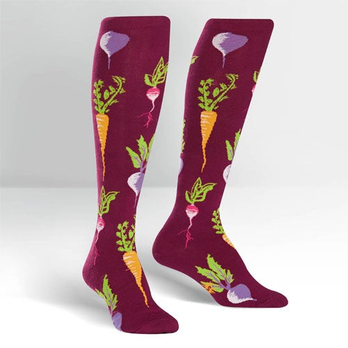 Turnip The Beet, Women's Knee-high