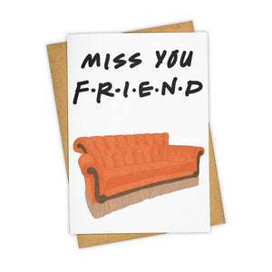 TAY*HAM MISS YOU FRIEND CARD