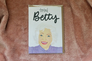 TAY*HAM TOTAL BETTY CARD