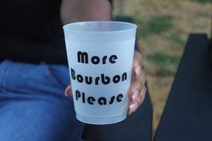More Bourbon Please | Add More Rum Cup (Made to Order*)