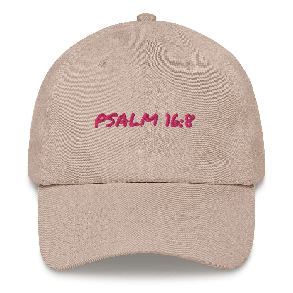 GO PINK PSALM HAT