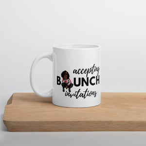 Accepting Brunch Invitations Mug