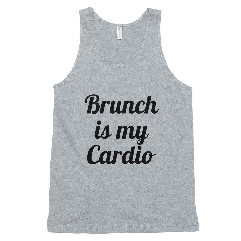 Brunch Cardio tank top (unisex)