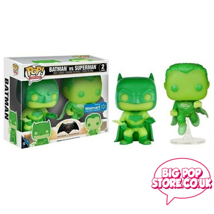 Dc Comics - Batman Vs Superman Gitd [2 Pack] Pop Vinyl