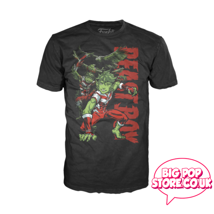 Dc Comics - Teen Titans Beast Boy T-Shirt Xxl Pop Tee