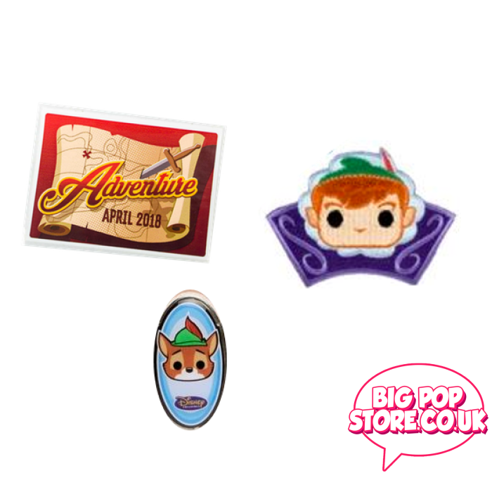 Disney - Adventures Patch/pin/sticker Other