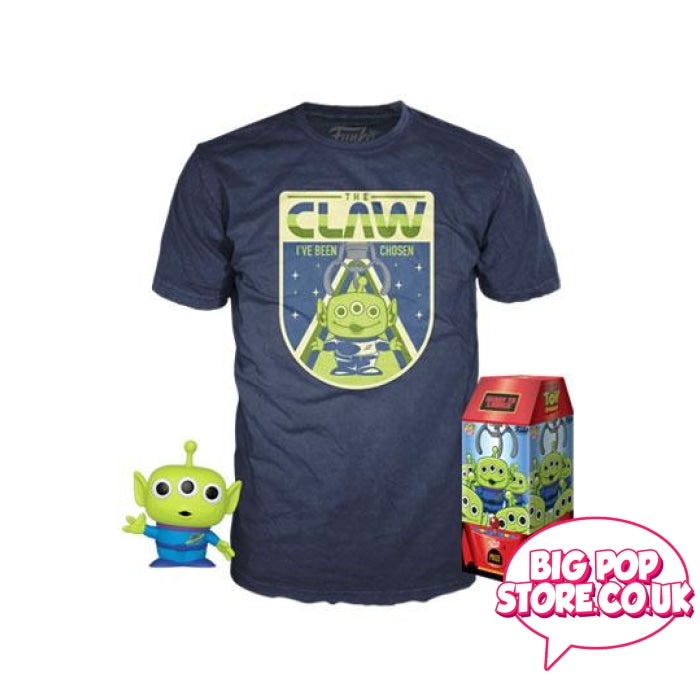 Disney - Toy Story Alien And The Claw Gitd Pop Tee Xl Vinyl