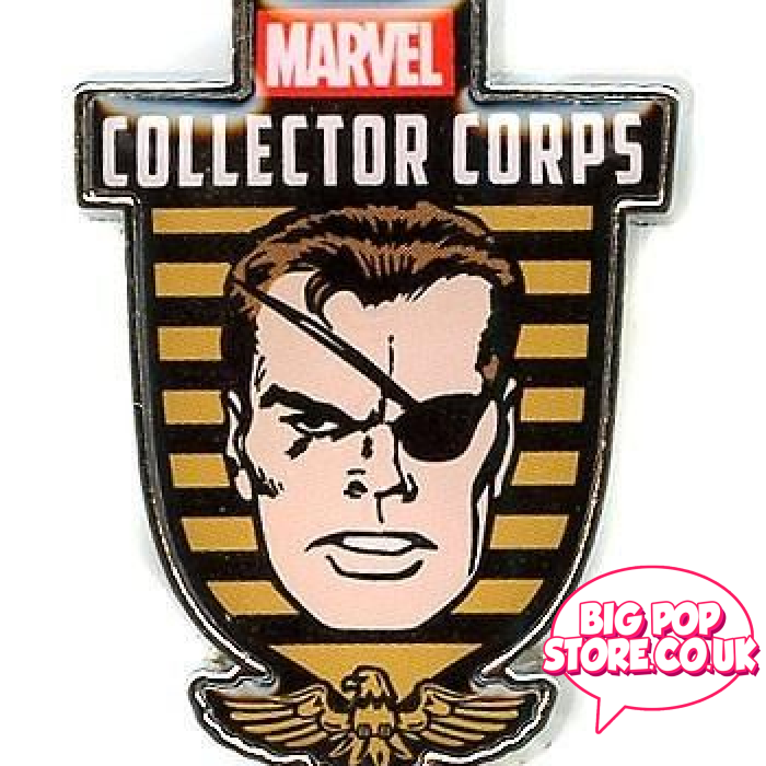 Marvel - Nick Fury Exclusive Pin Other