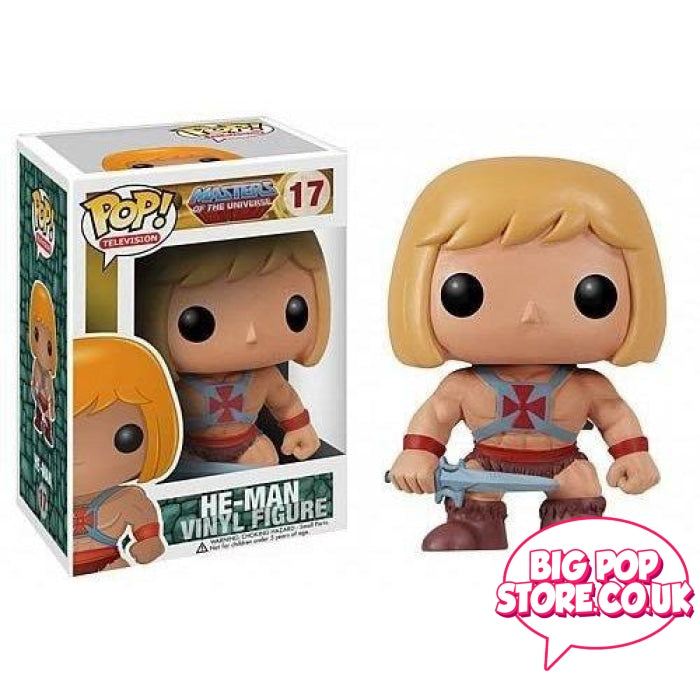 Masters Of The Universe - He-Man [17] Funko Pop Vinyl