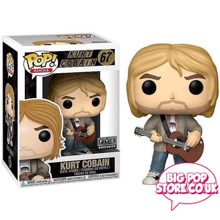 Nirvana - Kurt Cobain Mtv Unplugged [67] Pop Vinyl