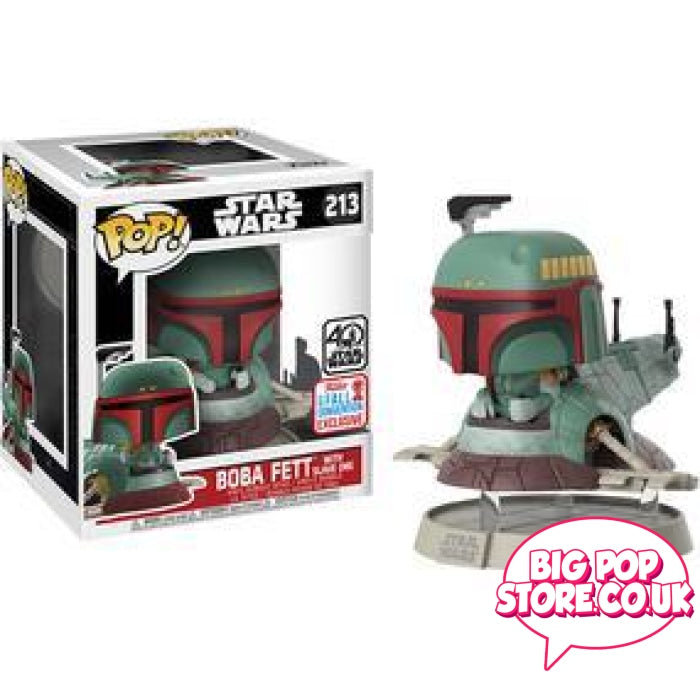 Star Wars - Boba Fett With Slave One Nycc [213] Funko Pop Vinyl