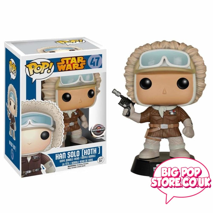 Star Wars - Han Solo Hoth [47] Condition 9/10 Pop Vinyl