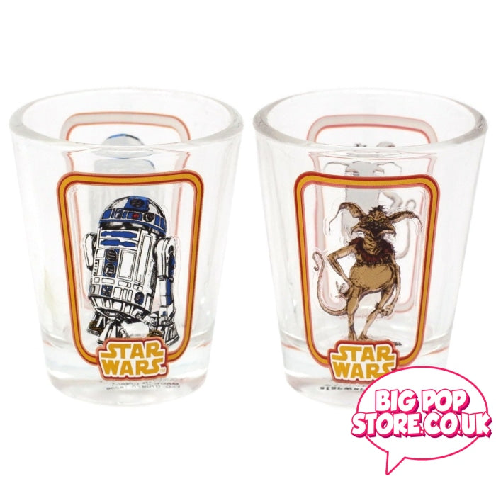 Star Wars - Smugglers Bounty Exclusive Shot Glasses [R2D2/crumb] Other
