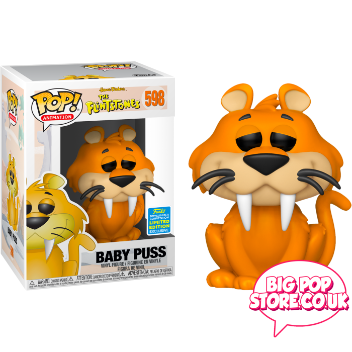 The Flintstones - Baby Puss Sdcc [598] Pop Vinyl