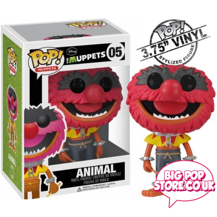 The Muppets - Animal [05] Pop Vinyl