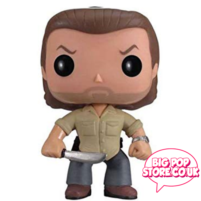 Walking Dead - Rick Grimes Prison Yard [67] Out Of Box Funko Pop Vinyl