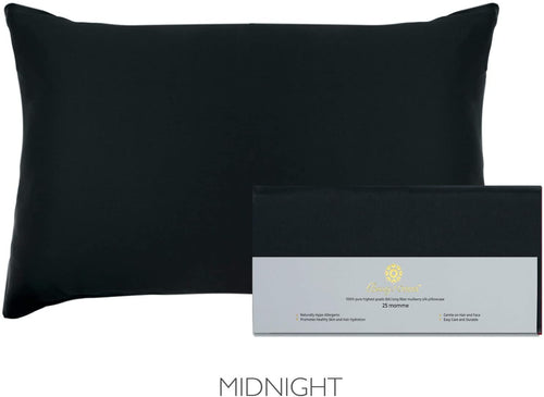 Beauty of Orient - 25 Momme, 100% Pure Mulberry Silk Pillowcase for Hair and Skin