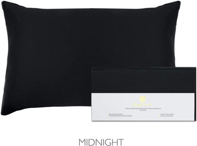 Beauty of Orient - 19 Momme, Mulberry Silk Pillowcase for Hair and Skin with Hidden Zipper