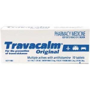 Travacalm Tablets - Pack 10