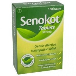 Senokot Natural Tablets - Packet 100