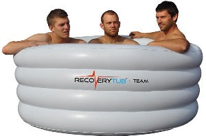 Recoverytub Inflatable Ice Bath Team