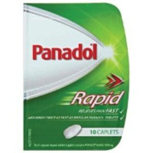 Panadol Rapid Handy Caplets - Pack 10