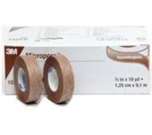 Micropore Surgical Tape Tan 12mm X 9.1m