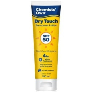 Chemists' Own Sunscreen 50+ Dry Touch 200 ml